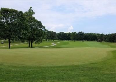 Brown Deer Golf Course Hole 1 Green