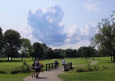 Brown Deer Golf Course Hole 13 Approach