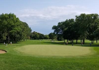 Brown Deer Golf Course Hole 14 Green