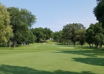 Brown Deer Golf Course Hole 15 Second Shot
