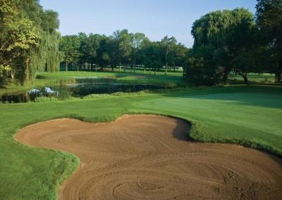 Brown Deer Golf Course Hole 16 Approach