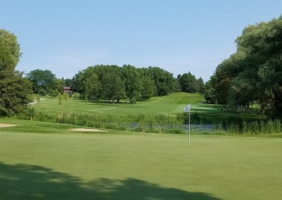 Brown Deer Golf Course Hole 16 Green Symetra