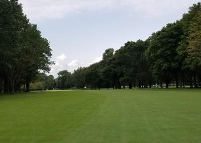 Brown Deer Golf Course Hole 8 Approach