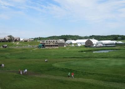 Erin Hills Golf Course 2017 U.S. Open Buildings