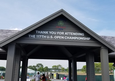 Erin Hills Golf Course 2017 U.S. Open Exit