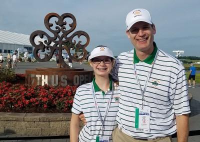 Erin Hills Golf Course 2017 U.S. Open Happy Volunteers