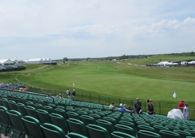 Erin Hills Golf Course 2017 U.S. Open Hole 18 Grandstand