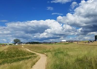 Erin Hills Golf Course 2017 U.S. Open Hole 18 Walkway