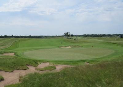 Erin Hills Golf Course 2017 U.S. Open Hole 5 Green