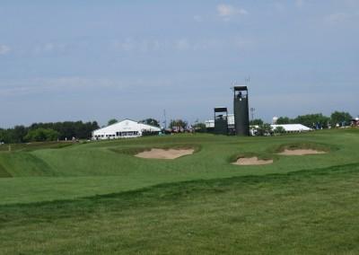 Erin Hills Golf Course 2017 U.S. Open Hole 8 Green