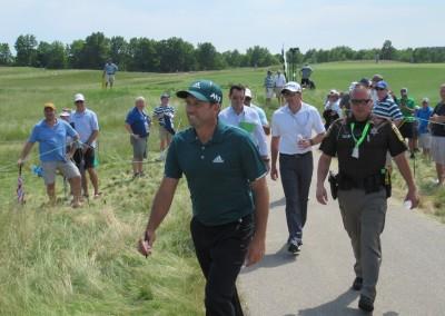 Erin Hills Golf Course 2017 U.S. Open Sergio Garcia
