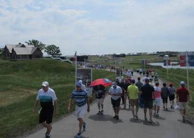 Erin Hills Golf Course 2017 U.S. Open Spectators