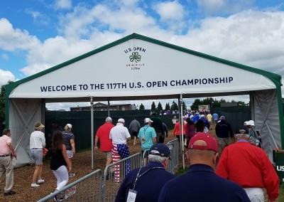 Erin Hills Golf Course 2017 U.S. Open Tent