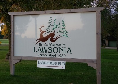 Golf Courses of Lawsonia - Sign