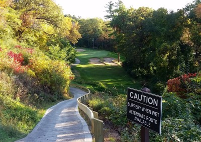 Golf Courses of Lawsonia - Woodlands Course - Slippery When Wet