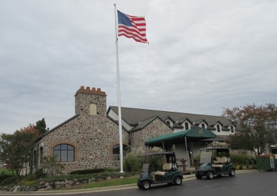 The Bog Golf Course Clubhouse Fall