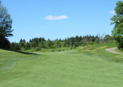 The Bog Golf Course Hole 14 Uphill Second Shot