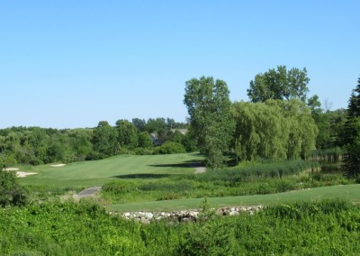 The Bog Golf Course Hole 18 Tee