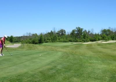 The Bog Golf Course Hole 4 Forward Tee