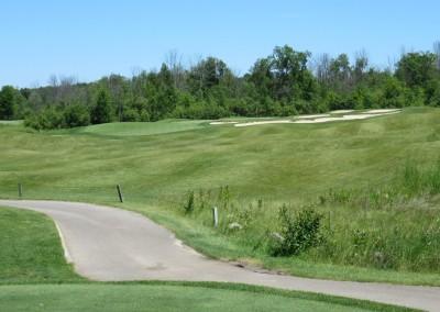 The Bog Golf Course Hole 4 Par 3 Tee