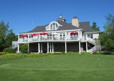 The Bull at Pinehurst Farms Clubhouse Exterior