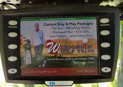 The Bull at Pinehurst Farms Hole 5 Cart Large Ad