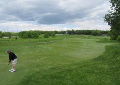University Ridge Golf Course Hole 1 Green