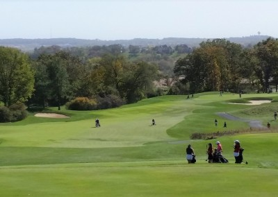 University Ridge Golf Course Hole 1 Tee - Girls HS