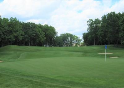 University Ridge Golf Course Hole 14 Green - Boys HS