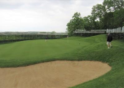 University Ridge Golf Course Hole 18 Green