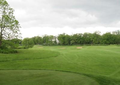 University Ridge Golf Course Hole 18 Tee