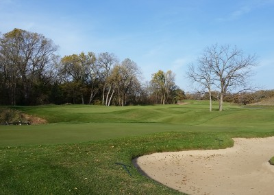 University Ridge Golf Course Hole 2 Green - Girls HS