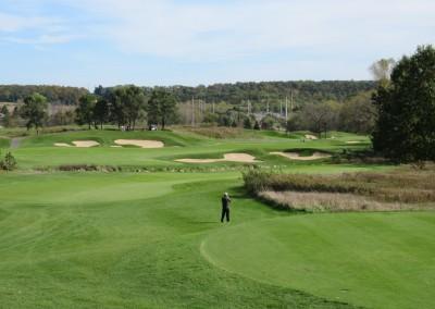 University Ridge Golf Course Hole 2 Tee Shot