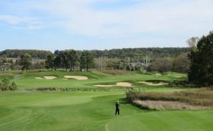 University Ridge Golf Course Hole 2 - Zig Zag - Tee Shot