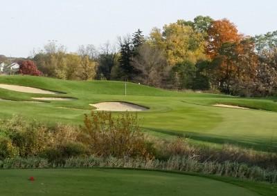 University Ridge Golf Course Hole 5 Tee Fall