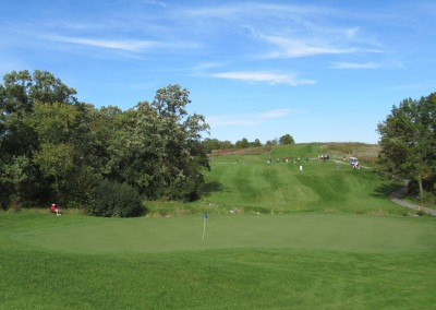 University Ridge Golf Course Hole 8 Green