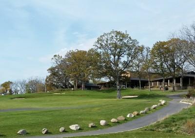 University Ridge Golf Course Hole 9 Green