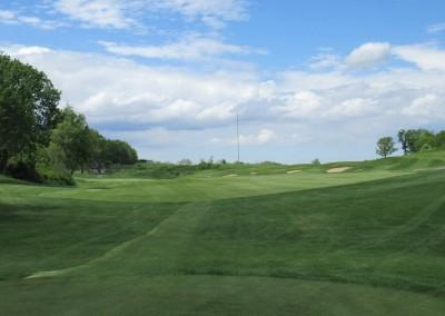 University Ridge Golf Course Hole 9 Tee Shot