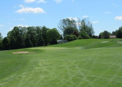 Washington County Golf Course Hole 1 Approach