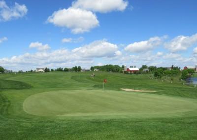 Washington County Golf Course Hole 1 Green
