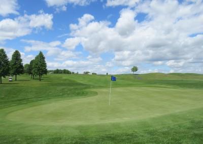 Washington County Golf Course Hole 10 Green