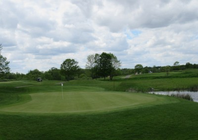 Washington County Golf Course Hole 14 Green