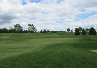 Washington County Golf Course Hole 17 Green