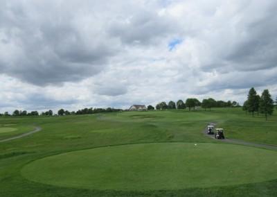 Washington County Golf Course Hole 18 Clouds