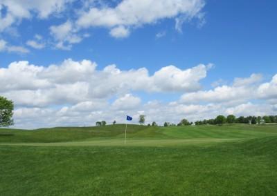 Washington County Golf Course Hole 3 Green