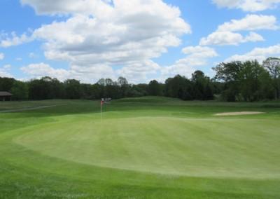 Washington County Golf Course Hole 4 Green