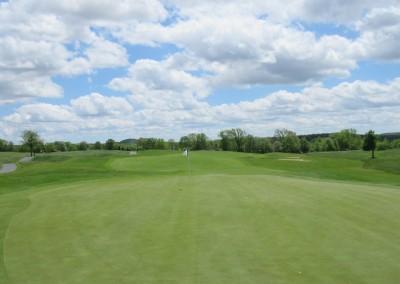 Washington County Golf Course Hole 5 Green