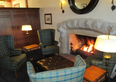 Whistling Straits - Clubhouse Locker Room Fireplace
