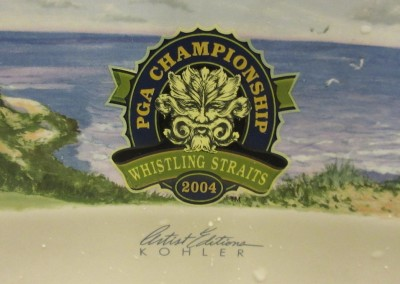 Whistling Straits - Clubhouse Locker Room Sink Logo
