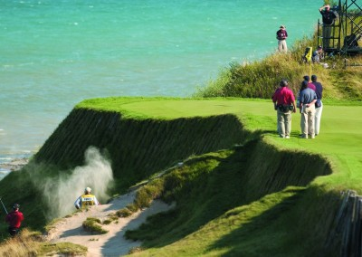 Whistling Straits Straits Course 2004 PGA Hole 17 Bunker